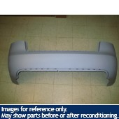 05 06 07 08 Audi S4 Rear Bumper Cover Sedan