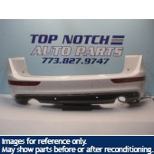 09 10 11 12 13 Audi Q5 S-Line Rear Bumper Cover with lower Diffuser Left & Right Bumper tail Lights Included !!