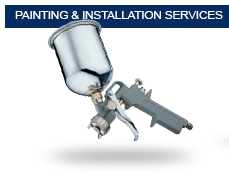 Reconditioned bumpers painting and installation available.